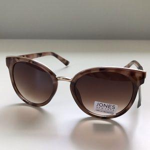 Jones New York Light Brown Tortoise Sunglasses